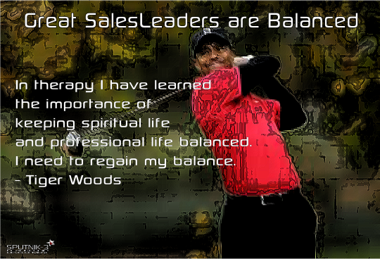 Great Sales Leaders are Balanced