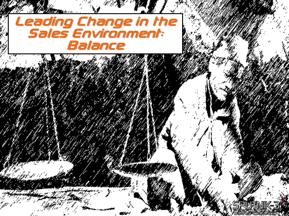 Leading Change in the Sales Environment