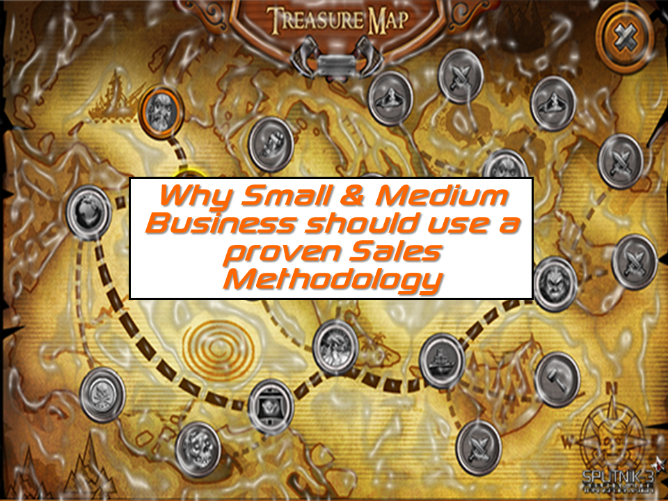 Why SMB should use a proven sales methodology