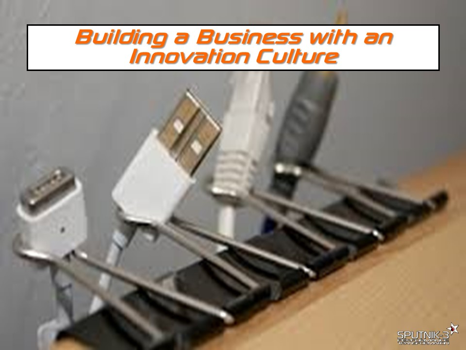 Building a Business with an Innovation Culture