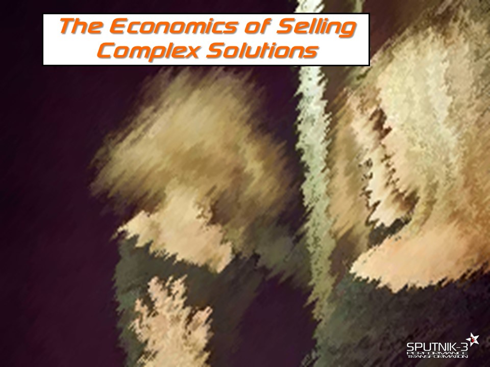 The Economics of Selling Complex Solutions